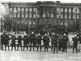 Wenzelsplatz, Januar 1989