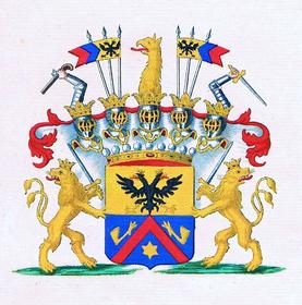 Герб рода де Фур, Фото: открытый источник
