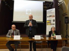Tomáš Kraus, el ministro de Cultura Daniel Herman, Helena Krejčová, foto: Archivo del Ministerio de Cultura