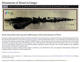 Photo: Site officiel du projet 'Monuments of Mosul in Danger'