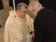 Dominik Duka et Miloš Zeman, photo: ČTK