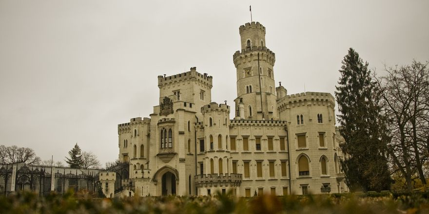 Majestic Hluboká Castle, photo: Vít Pohanka / Czech Radio