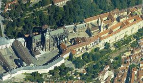 Le Château de Prague, photo: Google Maps