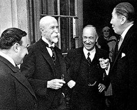 T. G. Masaryk et Edvard Beneš