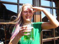Зеленое пиво, Фото: Вацлав Малина, архив Чешского радио
