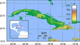 Cuba, fuente: Sadalmelik, Wikimedia CC BY-SA 3.0