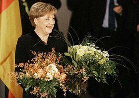 Nueva canciller alemana, Angela Merkel (Foto: CTK)