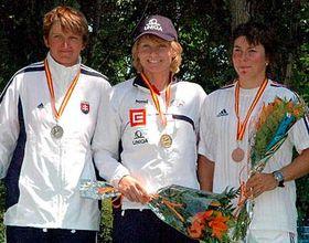 Stepanka Hilgertova (en el centro) Foto: CTK