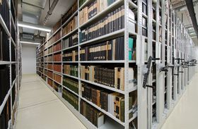 Zentraldepot (Foto: Archiv der Nationalbibliothek)