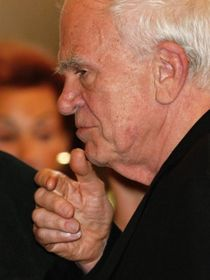 Milan Kundera, photo: Jan Šmíd