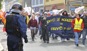 El 1 de mayo en Přerov, foto: ČTK