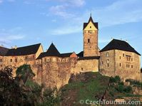 Le château fort de Loket, photo: CzechTourism