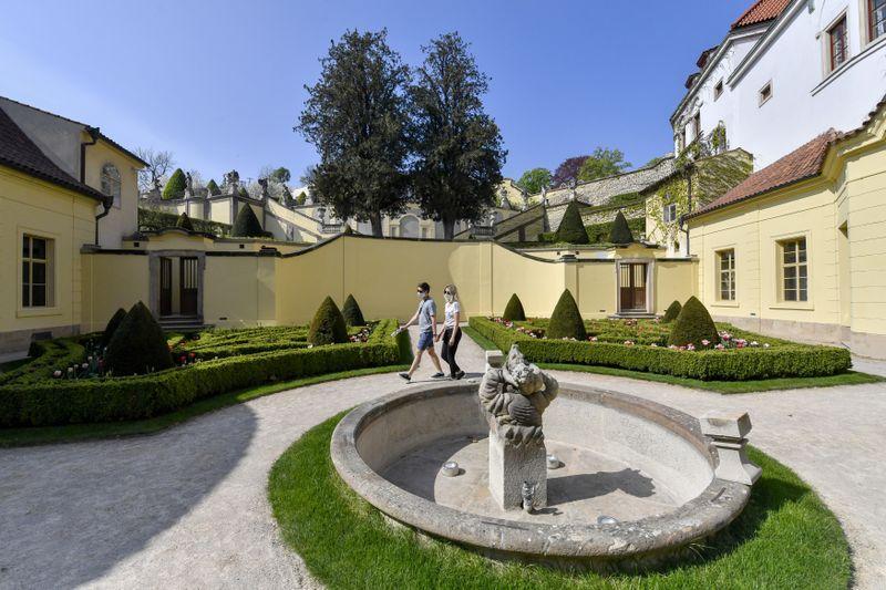 Le jardin Vrtba, photo: ČTK/Vít Šimánek
