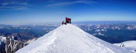 Mont Blanc, photo: Th.Keilig, CC BY-SA 1.0