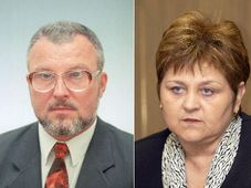 Jozef Kubinyi und Exministerin Marie Souckova (Foto: CTK)