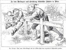 Karikatur des Böhmakelns (Foto: Public Domain)