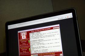 Компьютер, поврежденный Ransomeware, Фото: ЧТК