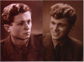 Les frères Ctirad et Josef Mašín, photo: Archives de Barbara Mašín / Don.Rumata, CC BY-SA 3.0