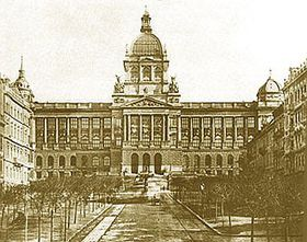 The National Museum in 1891, photo: www.nm.cz