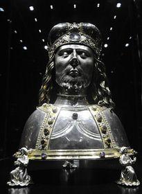 The reliquary bust of Saint Wenceslas, photo: CTK
