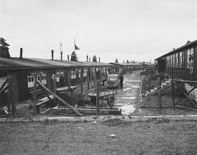 El campo de concentración nazi de Buchenwald, foto: Archivo de United States Holocaust Memorial Museum, Free Domain