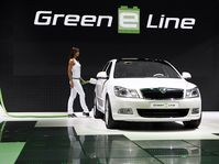 La voiture Octavia Green E Line, photo: CTK