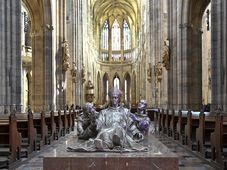 La statue de saint Adalbert à la cathédrale Saint-Guy, photo: ČTK