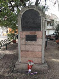 El monumento conmemorativo a Lidice en Montevideo, foto: archivo de MZV