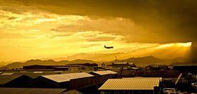 Militärstützpunkt Shindand (Foto: United States Air Force, Wikimedia Commons, Public Domain)