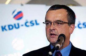 Líder viejo nuevo del democristiano Partido Popular, Miroslav Kalousek (Foto: CTK)