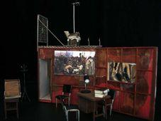 'Opération Roméo – Tchécoslovaquie 1984', la scénographie, photo: Théâtre de l'Imprévu