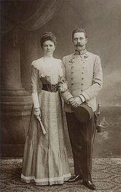 Франц Фердинанд д'Эсте и София Хотек