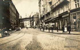 Prague en 1917