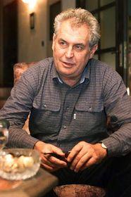 Milos Zeman, Foto: CTK