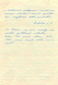 Une lettre de Jan Palach, photo: Archives d'ABS