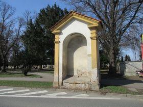 Kaple vPraze-Vinoři na poutní cestě do Staré Boleslavi, foto: Alena Pokorná, Wikimedia Commons, CC BY-SA 4.0