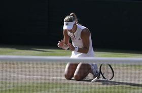 Angelique Kerber (Foto: ČTK / AP Photo / Ben Curtis)