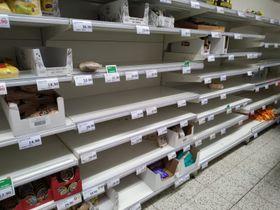 Чехи запасаются продуктами впрок, фото: Markéta Kunešová