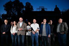 En Pilsen, Alcaldes e Independientes y el Partido Pirata anunciaron su intención de negociar, foto: ČTK / Miroslav Chaloupka
