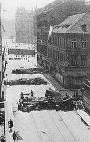 Прага в начале мая 1945 г.