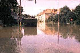 El río Morava en la ciudad de Uherské Hradiště, foto: Bohumil Blahuš, CC BY-SA 3.0