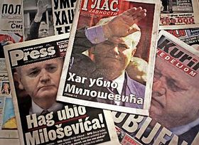Slobodan Milosevic (Foto: CTK)
