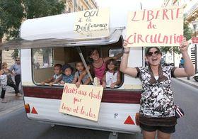 La manifestation contre Nicolas Sarkozy à Marseille, photo: CTK