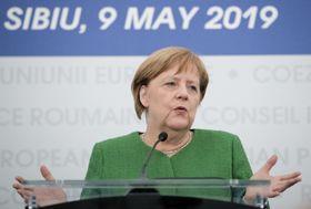Angela Merkel (Foto: ČTK / AP / Vadim Ghirda)