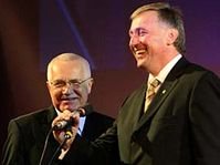 Václav Klaus a Mirek Topolánek, foto: ČTK