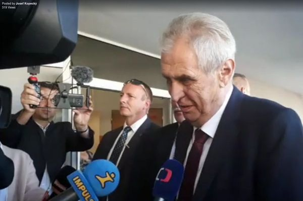 Miloš Zeman, photo: Josef Kopecký, ČRo