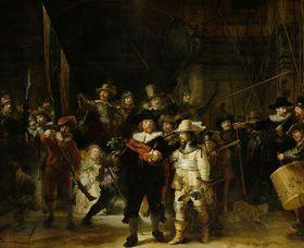 Групповой портрет Рембрандта «Ночной дозор»