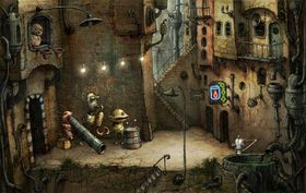 Machinarium, photo: Amanita Design