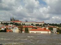 Prague en août 2002