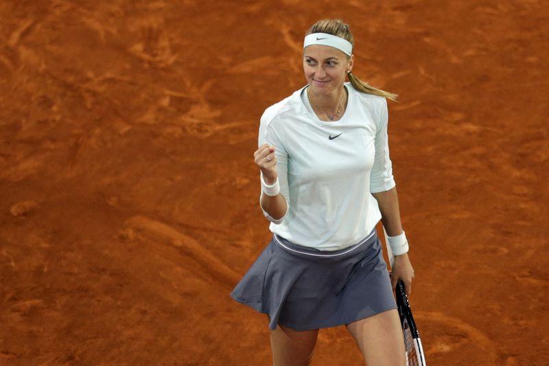 Petra Kvitová, foto: ČTK/AP/Andrea Comas